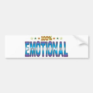Emotional Star Tag v2 Bumper Sticker