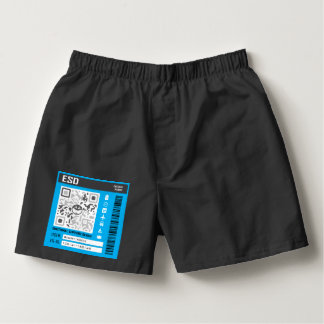 Emotional Support Device Blue Boxers
