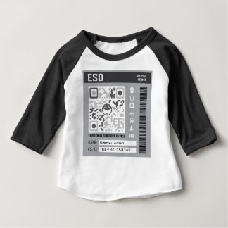 Emotional Support Device Grey Baby T-Shirt