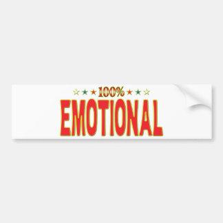 Emotional Tar Tag Bumper Stickers