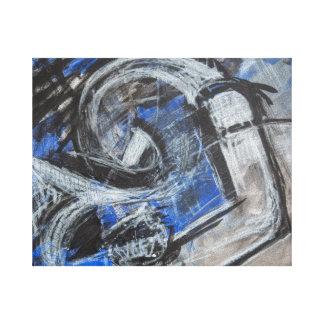 Emotions now open artwork canvas print