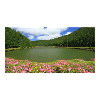 Empadadas Lakes - Azores Picture Card