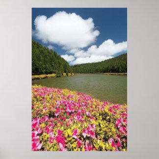 Empadadas Lakes, Azores Poster