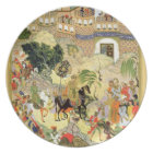 Emperor Akbar's triumphant entry into Surat, from Plate