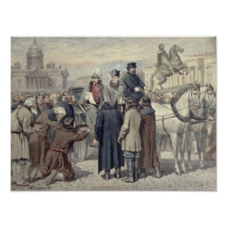 Emperor Alexander I Poster