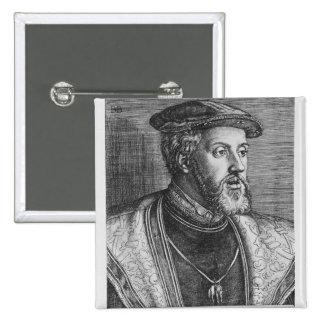 Emperor Charles V 1531 Pins