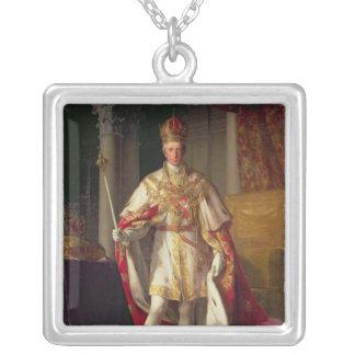 Emperor Franz II of Austria Silver Plated Necklace