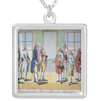 Emperor Leopold II Silver Plated Necklace