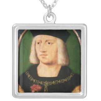 Emperor Maximilian I, c.1508-09 Silver Plated Necklace