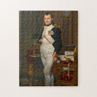 Emperor Napoleon 1812 by Jacques-Louis David Jigsaw Puzzles