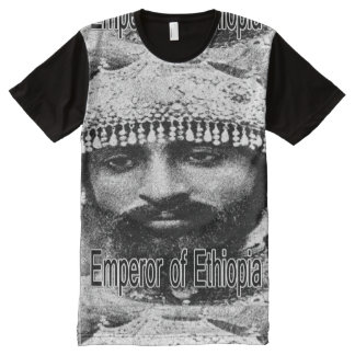 Emperor of Ethiopia All-Over Print T-Shirt