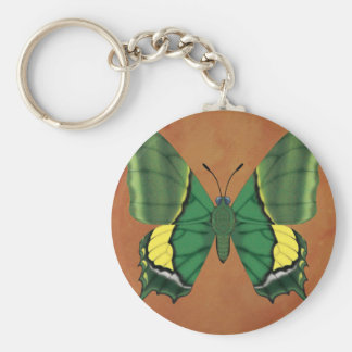 Emperor of India Butterfly Key Ring