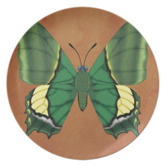 Emperor of India Butterfly Plate