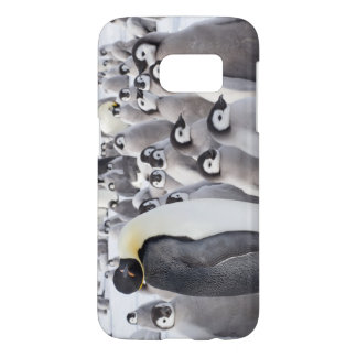 Emperor Penguin and Chicks - Samsung phone case