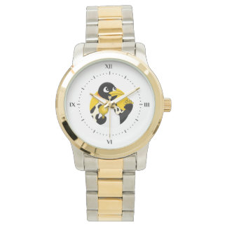 Emperor penguin cartoon watch