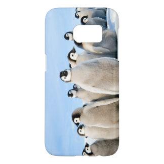 Emperor Penguin Chicks - Samsung G7 phone