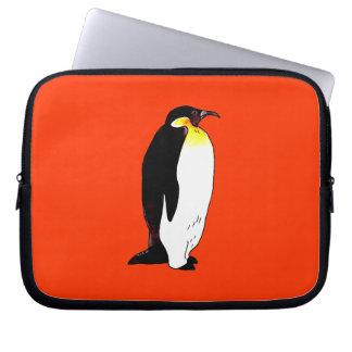 Emperor penguin computer sleeve
