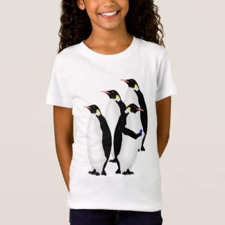 Emperor Penguin Using A Mobile Device Phone T-Shirt