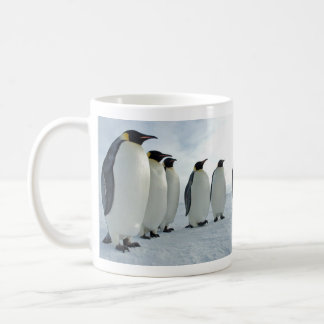 Emperor Penguins Having a Meeting Coffee Mug