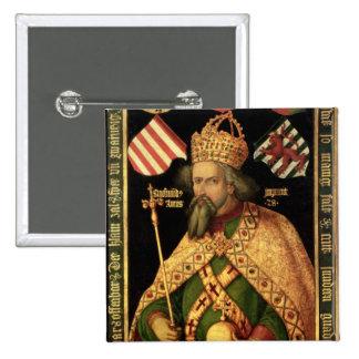 Emperor Sigismund Holy Roman Emperor Button