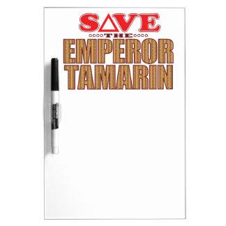 Emperor Tamarin Save Dry Erase Board