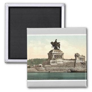 Emperor William's Monument, Coblenz, the Rhine, Ge Magnet
