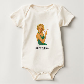 emphysema kill woman baby bodysuit