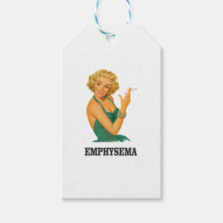 emphysema kill woman gift tags