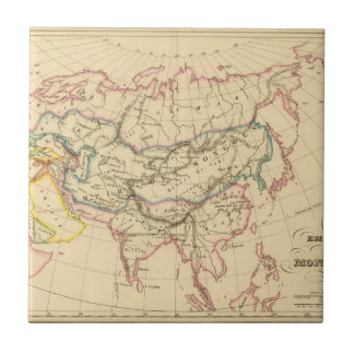 Empire of the Mongols Small Square Tile