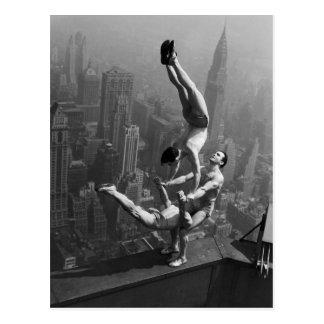 Empire State Balance Postcard
