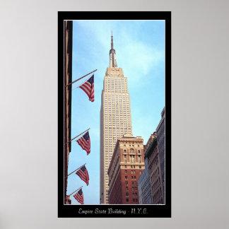 Empire State Bldg. Poster