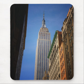Empire State Building Against The Sky, NYC Mouse Pad