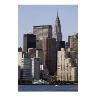 Empire State Building and New York City, New Poster