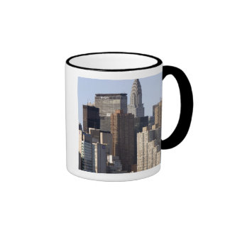 Empire State Building and New York City, New Ringer Mug