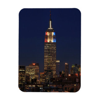Empire State Building: Election Night 2012 #1 Rectangular Magnets