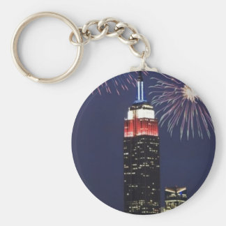 Empire State Building Keychain