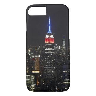 Empire State Building Manhattan Night Skyline iPhone 7 Case