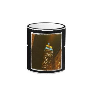 Empire State Building Ringer Mug