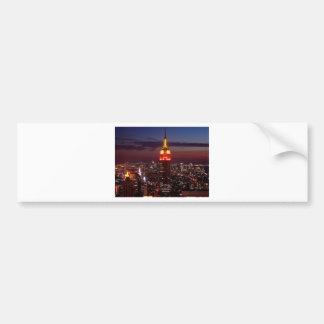 Empire State Building New York Bumper Stickers