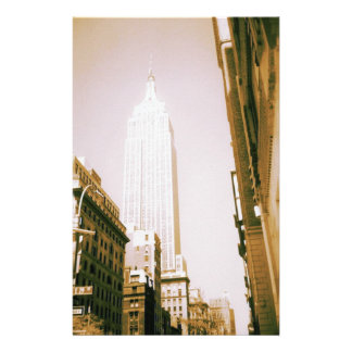 Empire State Building, New York City Customized Stationery