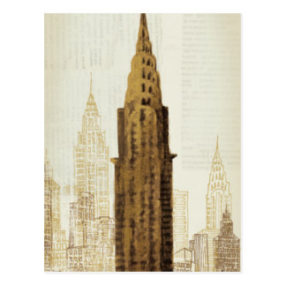 Empire State Building NYC Postcard