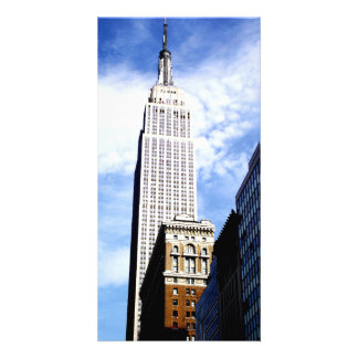 Empire State Building Personalised Photo Card