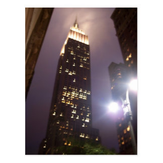 Empire State Building Post Card
