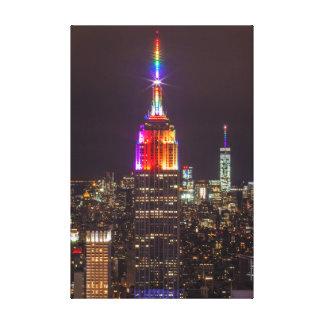Empire State Building Pride Canvas Print
