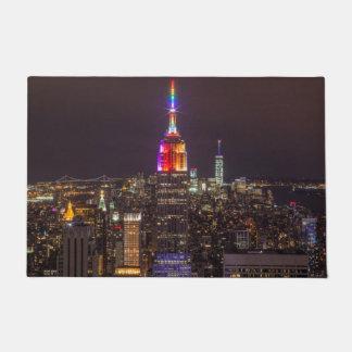 Empire State Building Pride Doormat