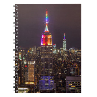 Empire State Building Pride Notebook