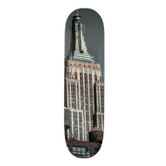 Empire State Building Skyscraper Photo Skateboard