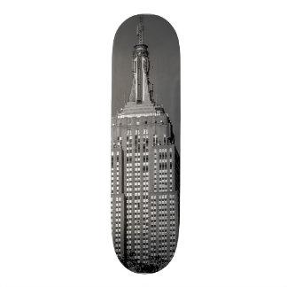 Empire State Building Skyscraper Photo Skate Boards
