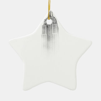 Empire State Ceramic Ornament