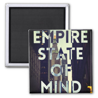empire state of mind new york city magnet